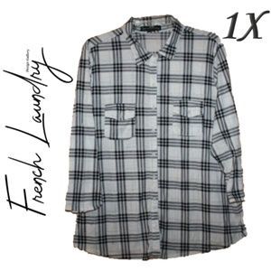 (1X) French Laundry Plaid Flannel